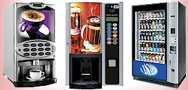 Vending machines covered by TVS Technical Vending Support